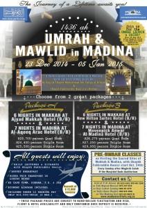 Umrah 1436 Poster-2